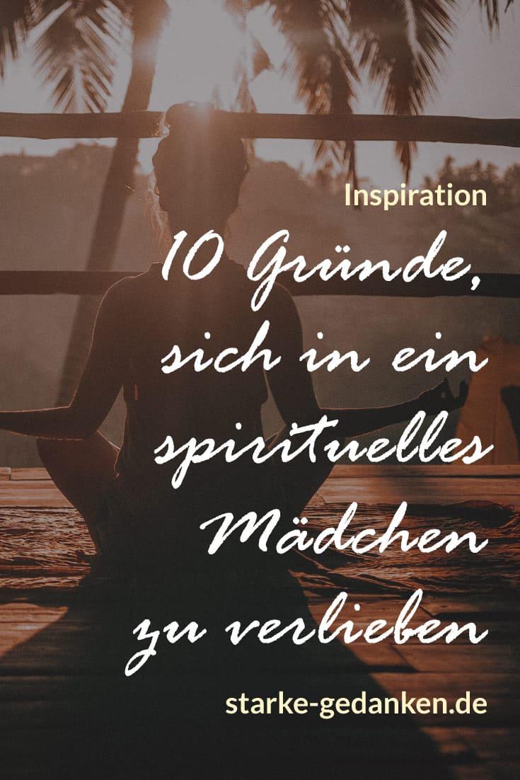 10 Gründe, sich in ein spirituelles Mädchen zu verlieben