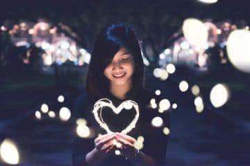 Mädchen mit dem großen Herz