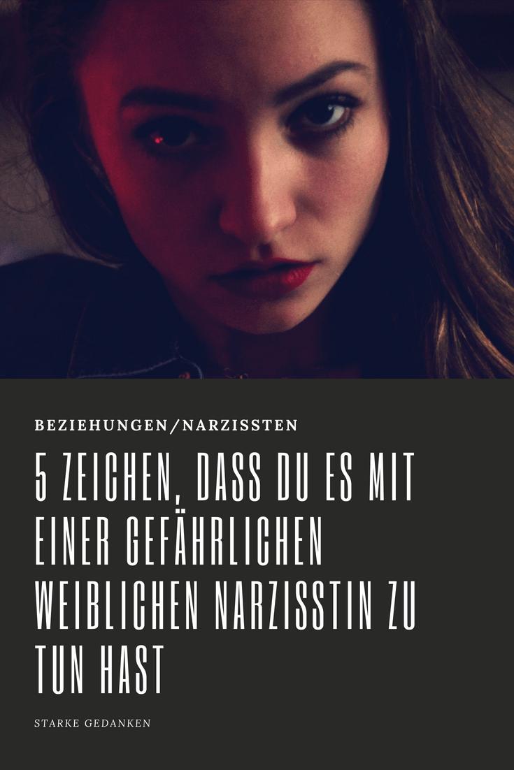 narzisstische Frauen