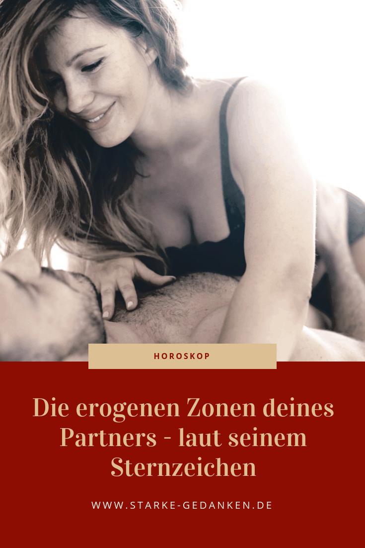 Die erogenen Zonen deines Partners - laut seinem Sternzeichen