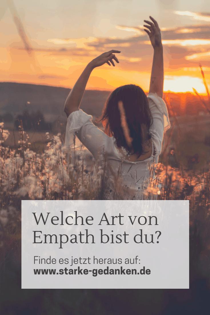 Welche Art von Empath bist du?