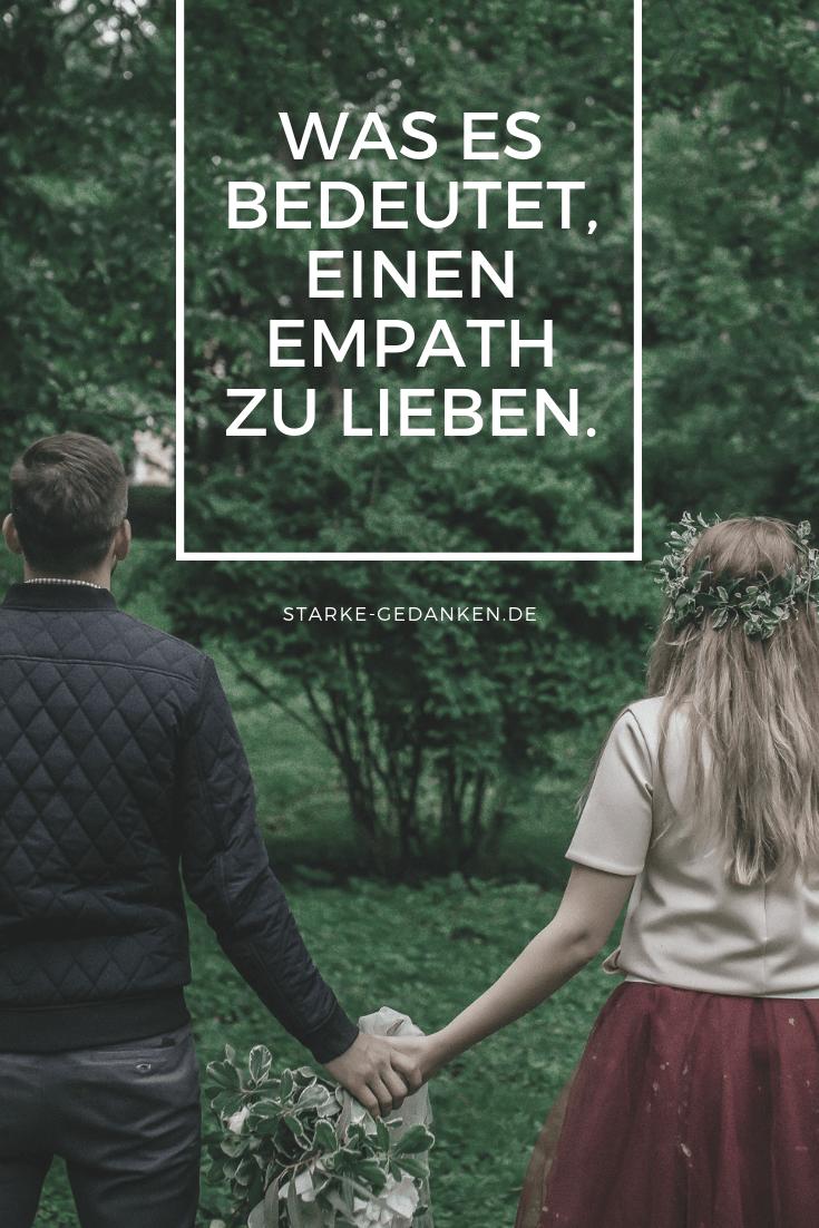 Was es bedeutet, einen Empath zu lieben