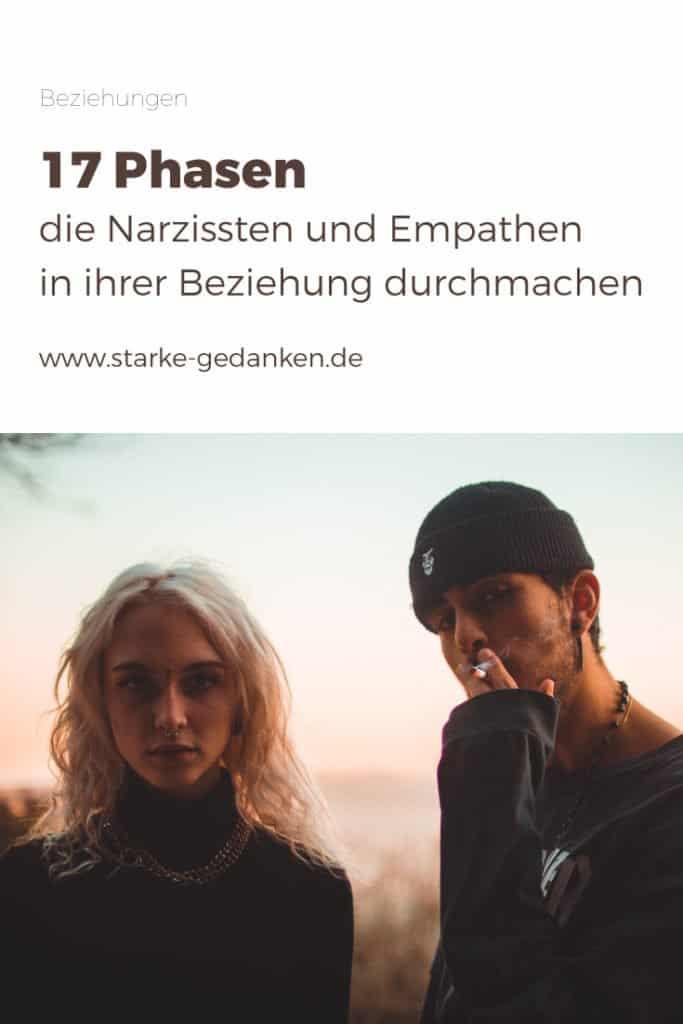 Narzissten und Empathen in einer Beziehung