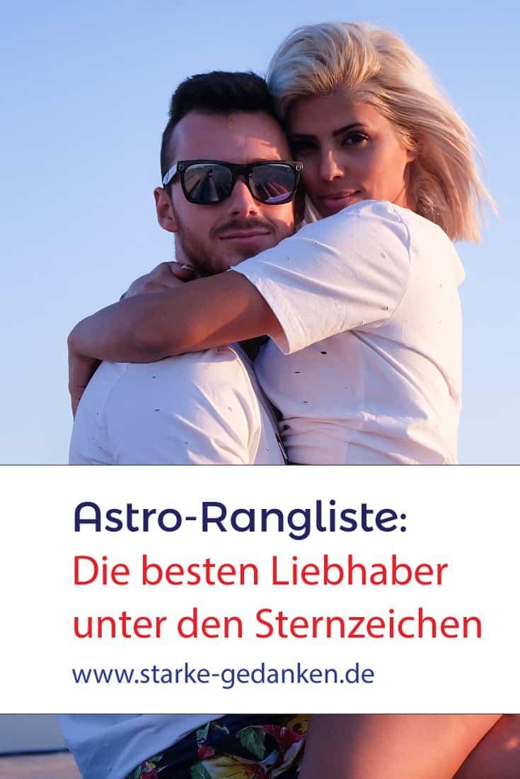 Astro-Rangliste: Die besten Liebhaber unter den Sternzeichen