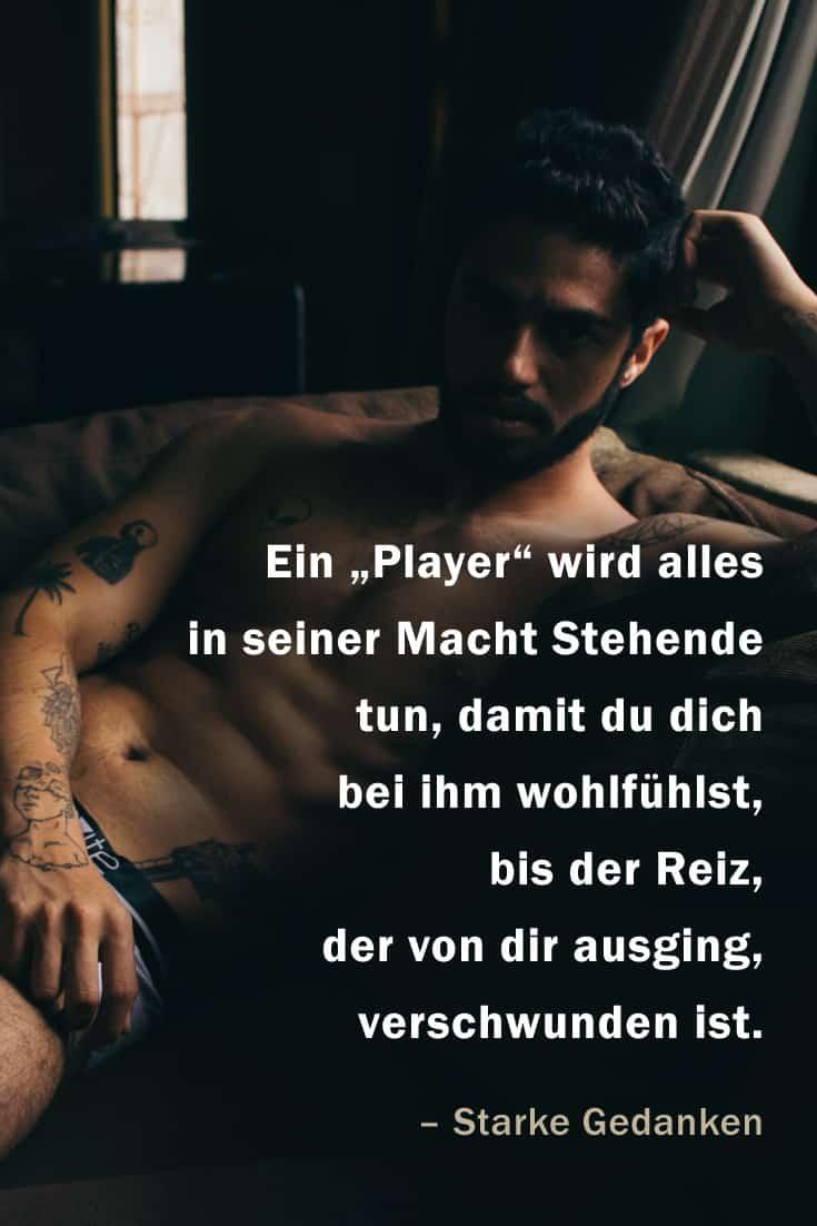 """Der Unterschied zwischen einem """"Player"""" und dem Mann fürs Leben"""