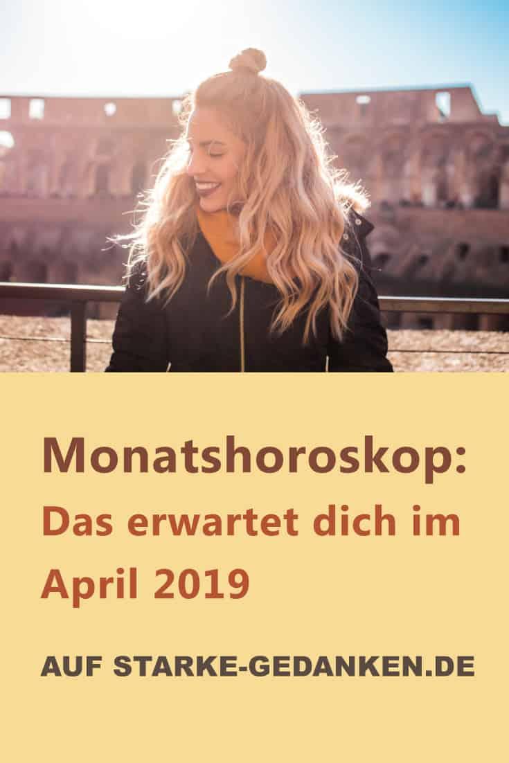 Monatshoroskop: Das erwartet dich im April 2019