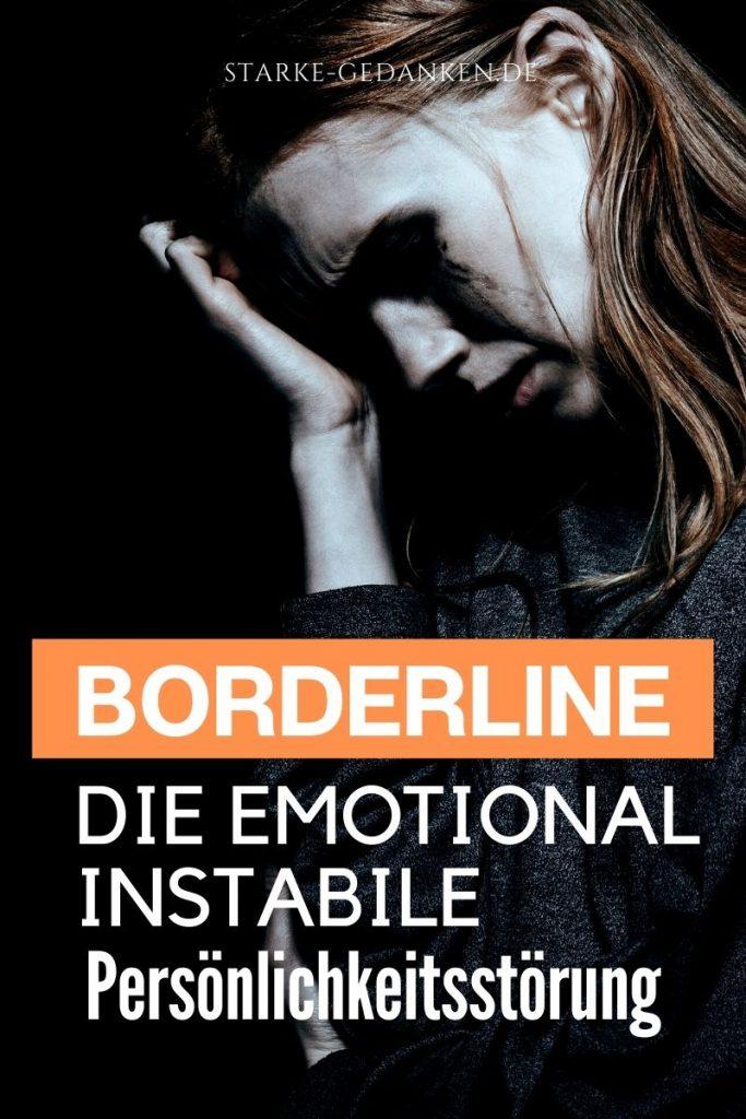 Hinterherlaufen borderliner nicht Borderline und