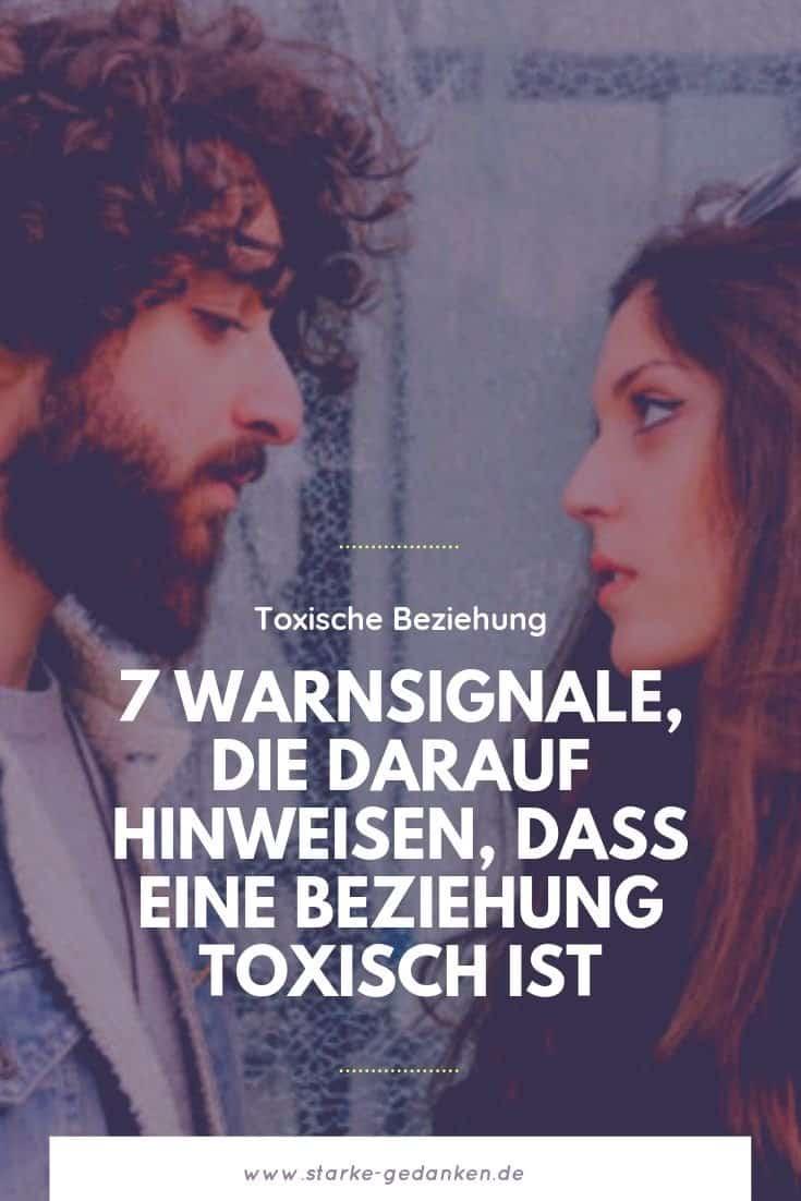 : 7 Warnsignale, die darauf hinweisen, dass eine Beziehung toxisch ist
