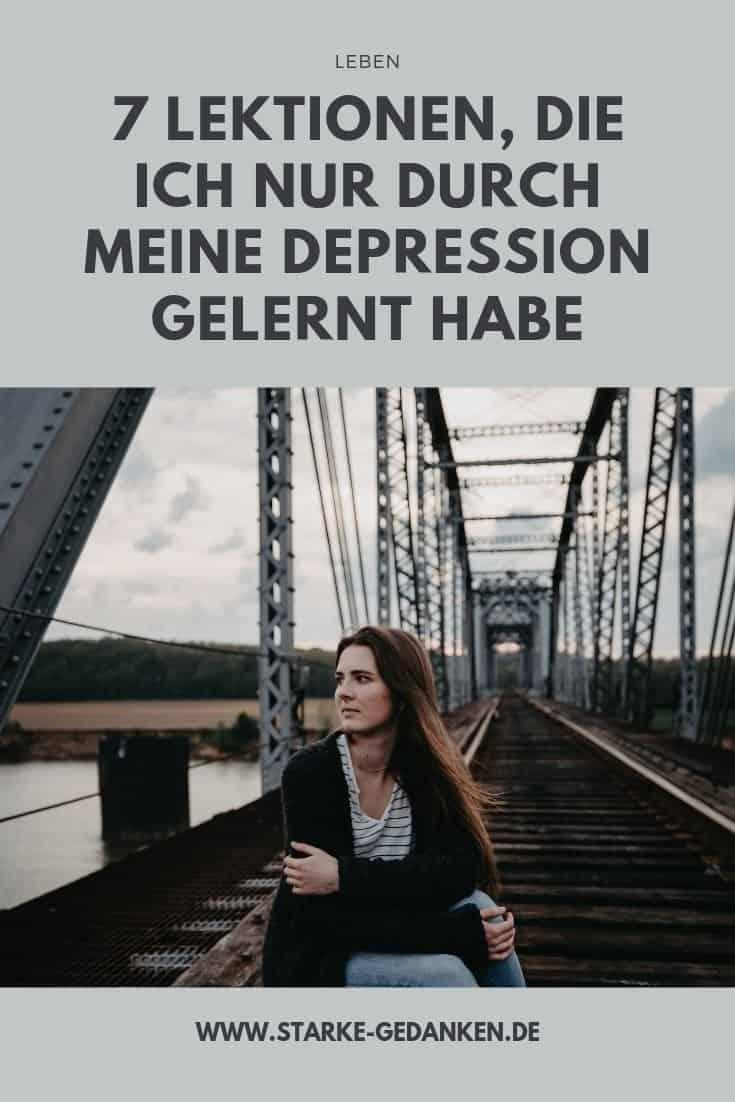 7 Lektionen, die ich nur durch meine Depression gelernt habe