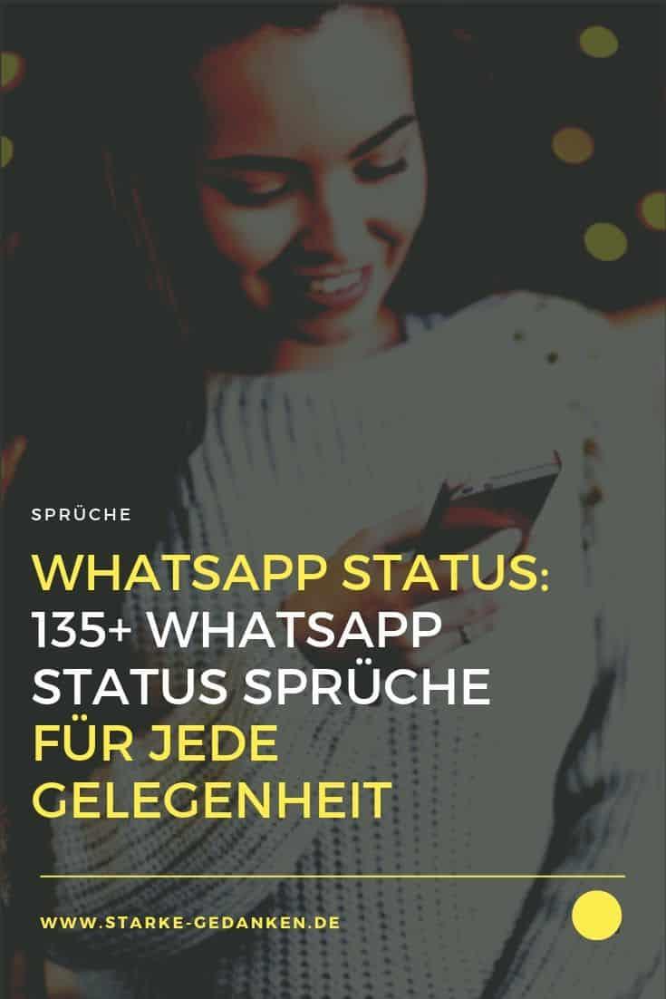 WhatsApp Status: 135+ WhatsApp Status Sprüche für jede Gelegenheit