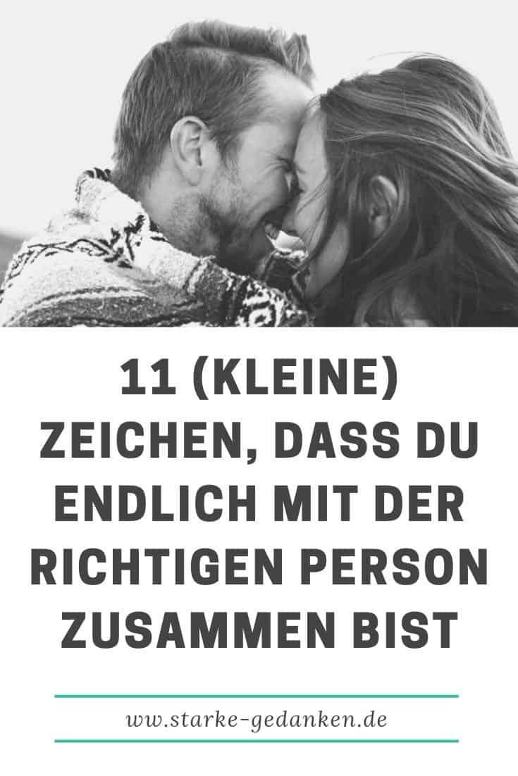 11 (kleine) Zeichen, dass du endlich mit der richtigen Person zusammen bist
