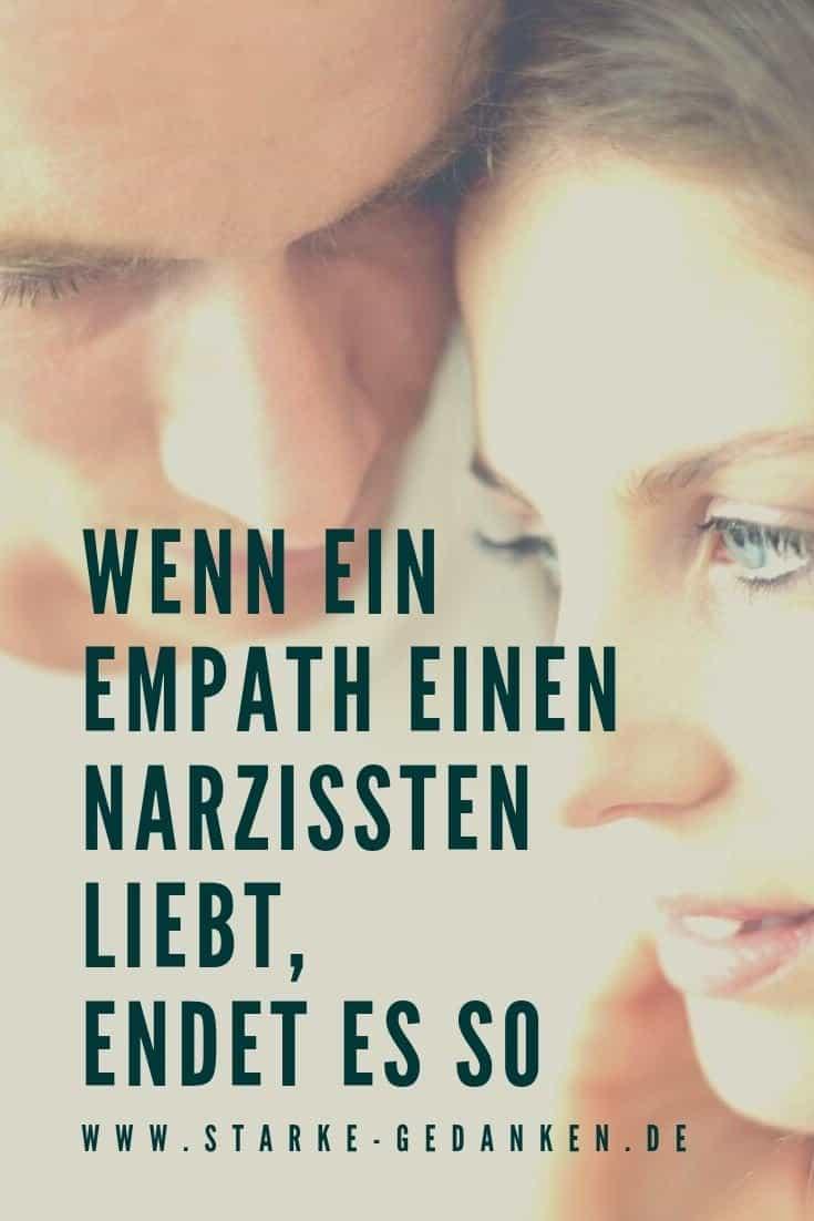 Wenn ein Empath einen Narzissten liebt, endet es so