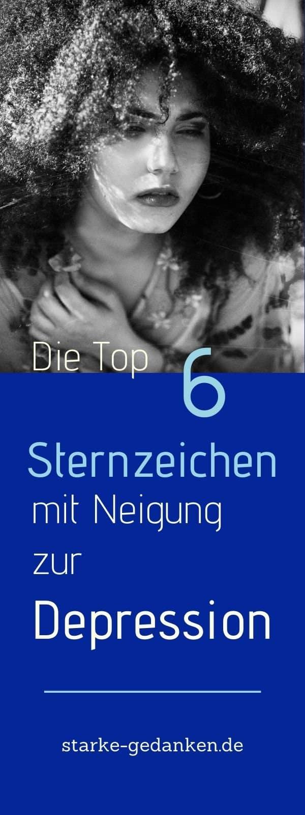 Die Top 6 Sternzeichen mit Neigung zur Depression
