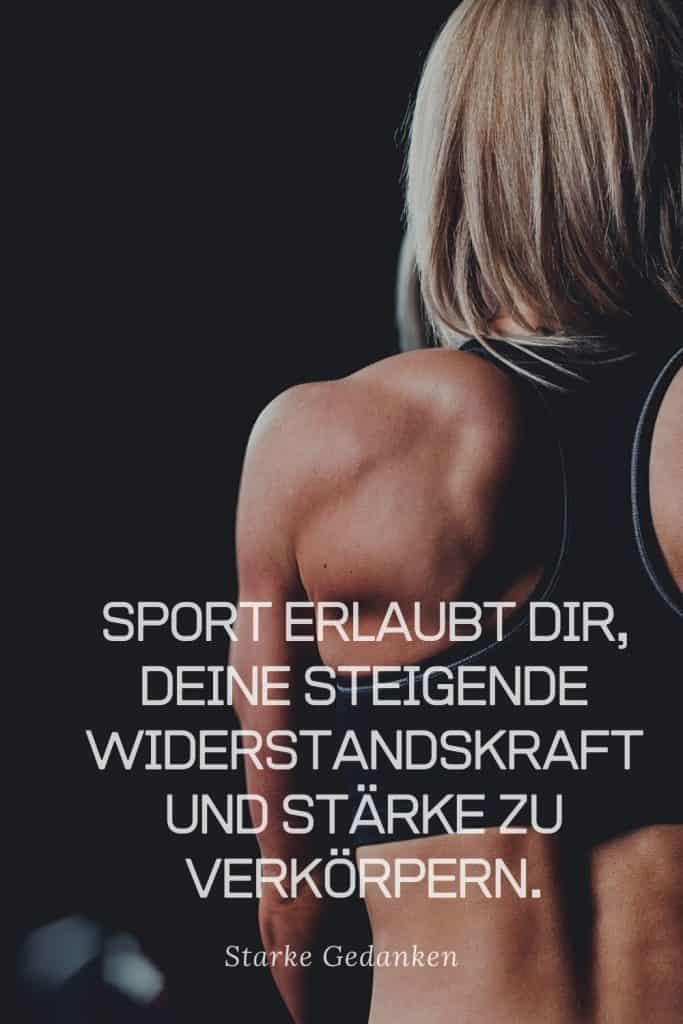 Selbsthilfe durch Sport