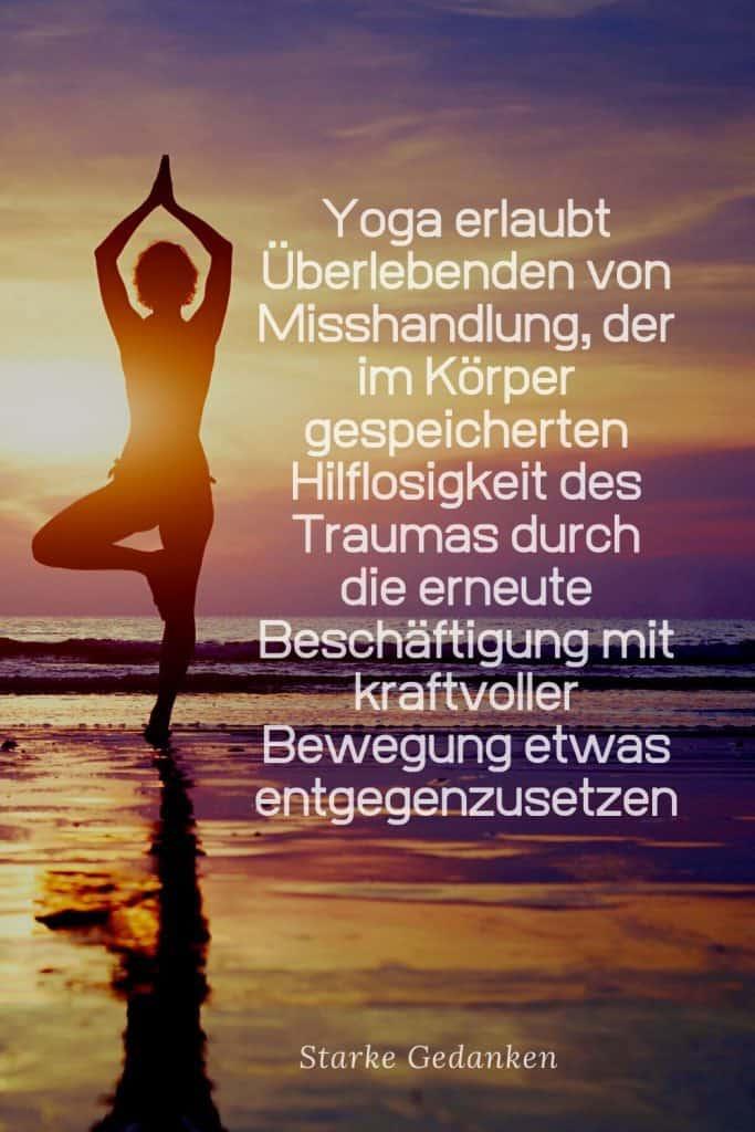 Yoga nach Trauma