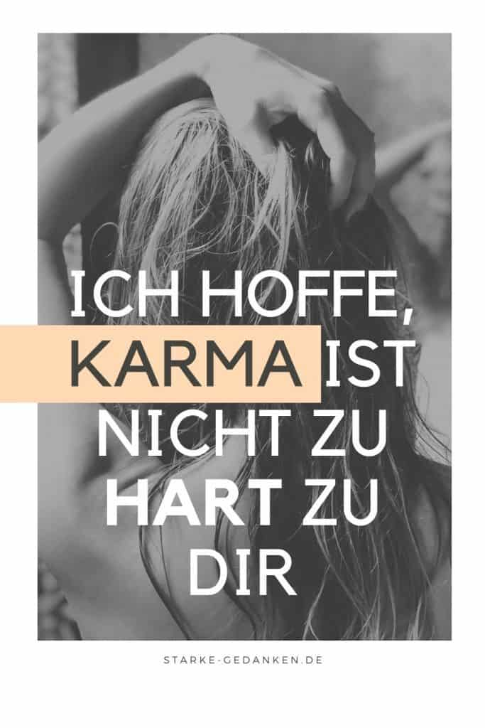 Karma kommt zurück sprüche