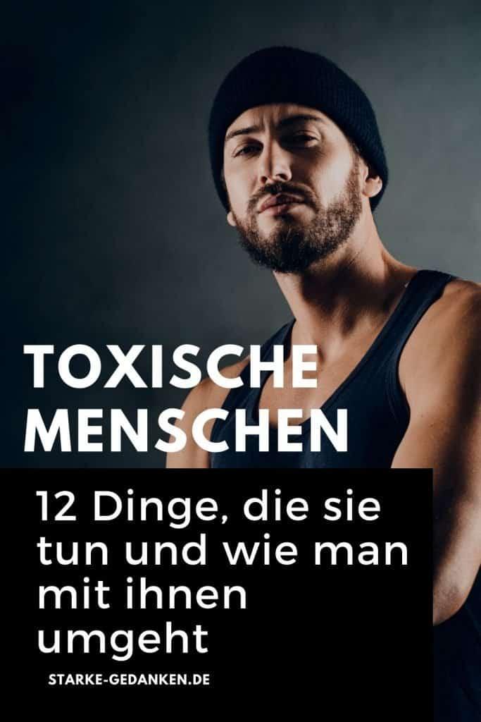 toxische Menschen