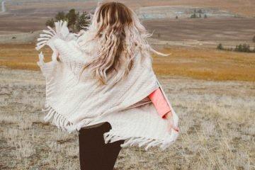 Sei das Mädchen, das mutig genug ist, von Dingen wegzugehen, die dich nicht glücklich machen
