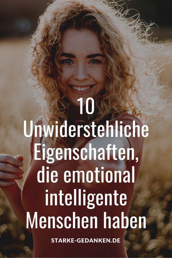 Intelligente Menschen Erkennen