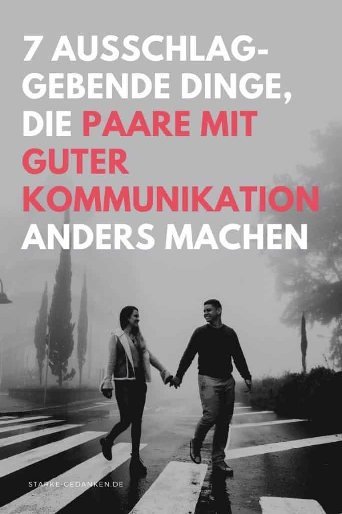 Paare mit guter Kommunikation