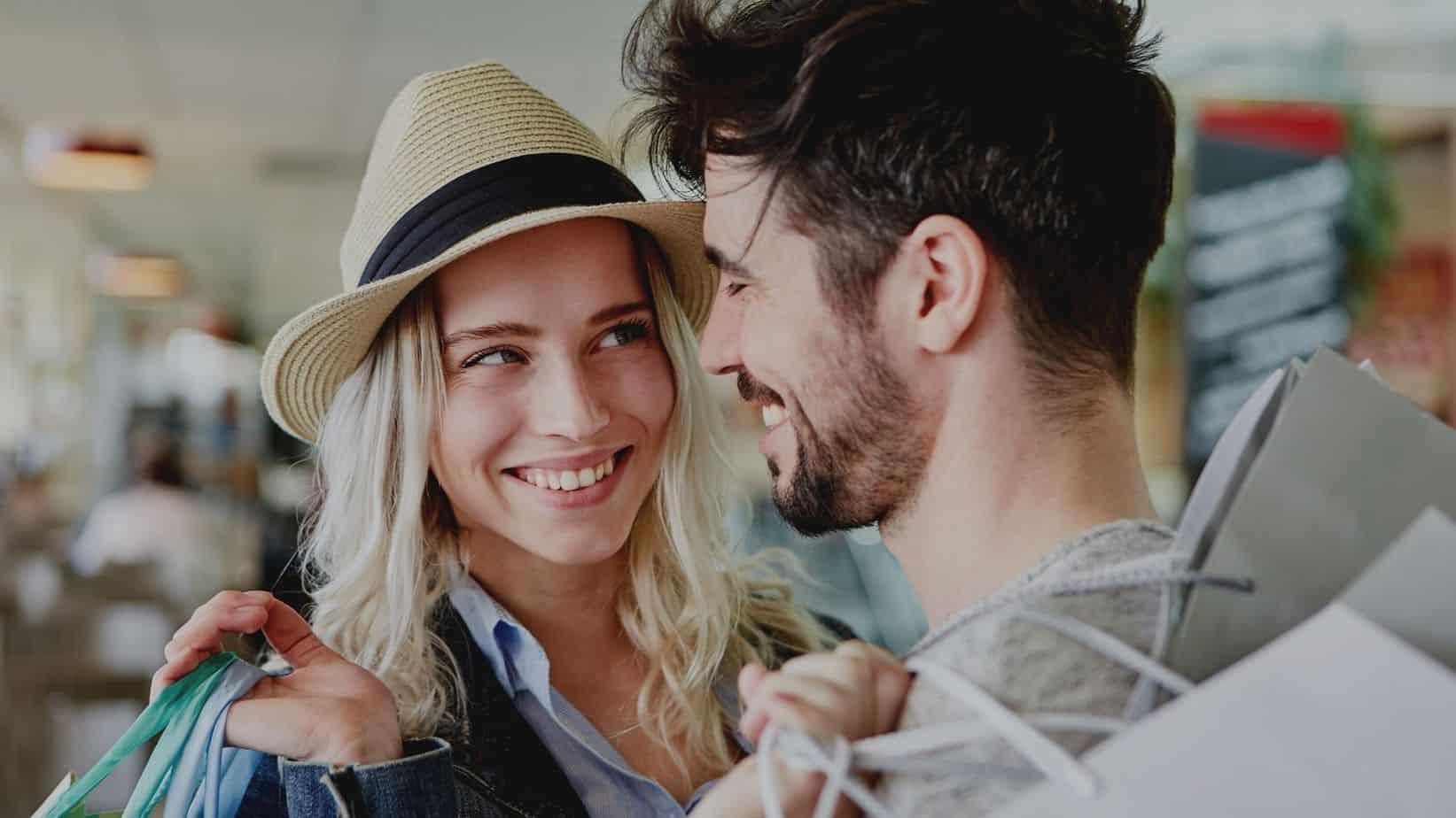Flirttechniken für frauen