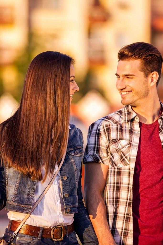 Flirten frau warten lassen