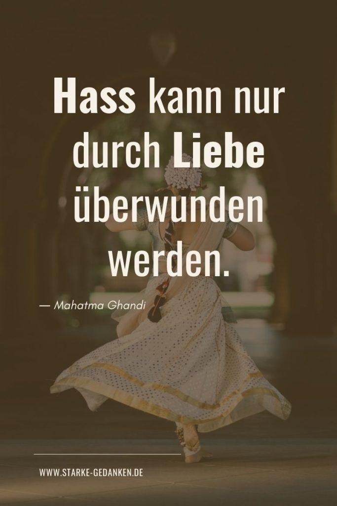 Ghandi Zitate